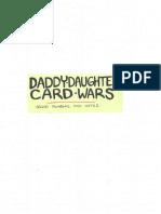 AT 238 Daddy-Daughter Card Wars - 2nd thumbnail pass