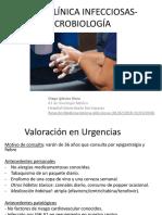 Caso clínico de ictericia y fiebre en un varón con infección VIH
