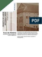 Projeto Laboratório de História - 2013