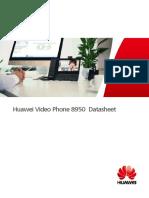 Huawei Video Phone 8950 Datasheet