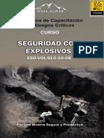 Explosivos Mina - MANUAL