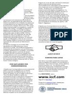 ICCF Panfleto