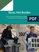 Boon, Not Burden
