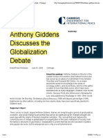 2 Giddens Globalization Discuss 2005
