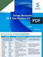 Solvay O&G Portfolio