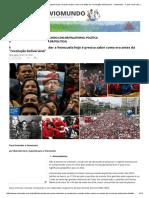 VENEZUELA.histÓRIA.marcelo Zero_ Para Entender a Venezuela Hoje Saber Como Era Antes Da _revolução Bolivariana