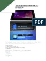 Digi Net Mobil Zte Mf110 Conectat Pe Tableta Android Serioux s101tab