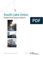 2018 South Lake Union Design Guidelines