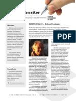 The Speechwriter August 2015