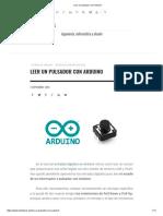 Leer Un Pulsador Con Arduino