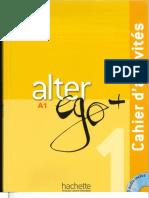 Alter Ego +1 Cahier d'activités