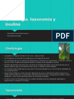 Ornitología, Taxonomía y Insulina