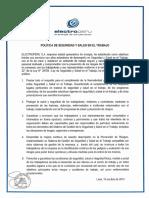 Politica de Seguridad y Salud en el Trabajo.pdf