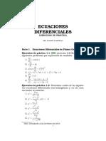 Problemario de Ecuaciones Diferenciales