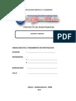 Trabajo Monografico de Pescados y Mariscos