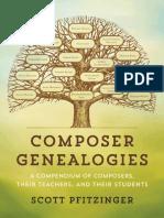 Composer Genealogies