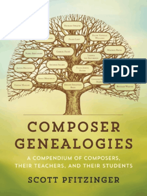Composer Genealogies Composers Musical Compositions