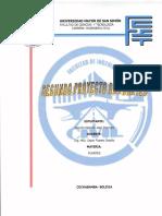 Segundo Proyecto de la materia de Puentes (Ingeniería Civil-UMSS)