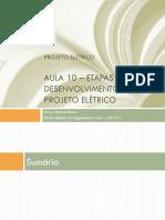 Aula 10 - Etapas do projeto elétrico - 2015_I.pdf