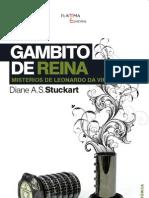 Gambito de reina, Misterios de Leonardo da Vinci. Diane A.S. Stuckart