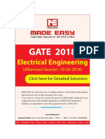 EE GATE-2018 2291 Answer Key