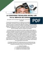 La Comunidad Tecnología Social