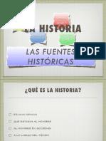 Las fuentes históricas