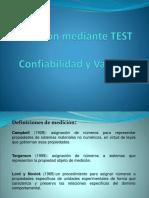 Medición mediante TEST1