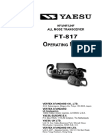 Yaesu FT-817 Operating Manual