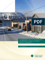 An Independent Audit of the Recruitment and Retention of Rural and Remote Nurses in Northern B.C.
