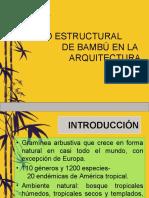 diseño estructural de bambu en la arq
