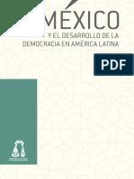 México y El Desarrollo de La Democracia en América Latina