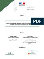 Rapport Vachey Et Jeanney ESMS