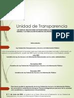 Transparencia Presentación