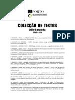 Coleção de Textos Julio Garganta