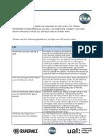 u6 evaluation journal peter