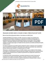 19-02-18 Diputados también piden a Canadá no dejar a México fuera del TLCAN - Quadratín CDMX