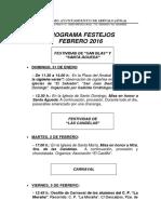 Informe Actividades Concejalía de Cultura - Ayuntamiento de Arévalo