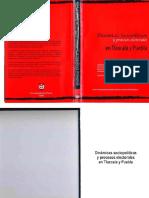 Ciisder Dinamicas Sociopoliticas y Procesos Electorales en Tlaxcala y Puebla