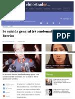 2015-08-13 Se Suicida Gral Ramirez