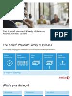 Versant 180 Sales Presentation