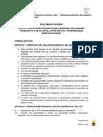 ReglamentoInterno AMBULATORIO INTENSIVO