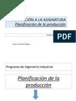 01 Introducción a La Asignatura Planificación de La Producción