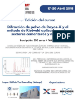 Tríptico - Curso XRD Cementos-Málaga-2018_XDS