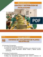 2.- Criterios Localizacion Planta