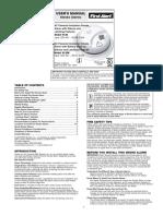 SA9120BCN-First Alert 120VAC Hardwired Smoke Alarm With Battery Backup