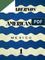Cuadernos Americanos núm 1 Vol i Enero Febrero de 1942