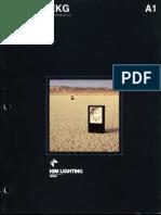 Kim Lighting EKG Gen. 2 Series Brochure 1985