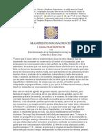 Manifiestos Rosacruces_ I. Fama Fraternitatis