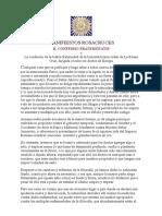 Manifiestos Rosacruces_ II. Confessio Fraternitatis
